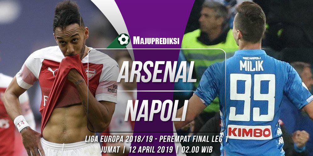 Prediksi Akurat Arsenal vs Napoli 12 April 2019