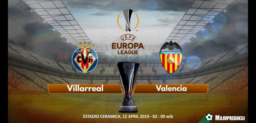 Prediksi Akurat Villarreal vs Valencia 12 April 2019
