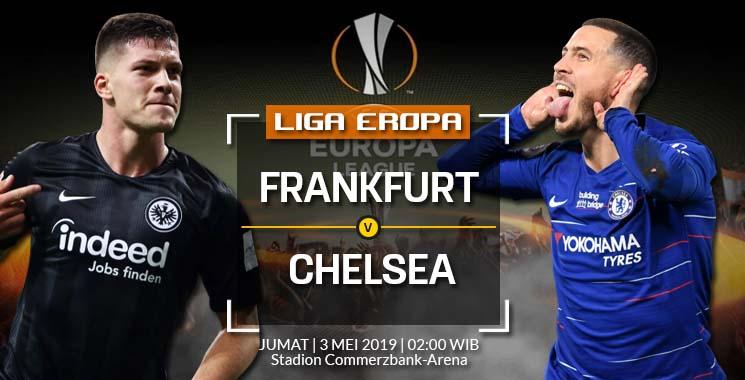 Prediksi Bola Eintracht Frankfurt vs Chelsea 03 Mei 2019