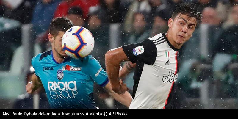 Hasil Pertandingan Juventus Imbang 1-1 Lawan Atalanta