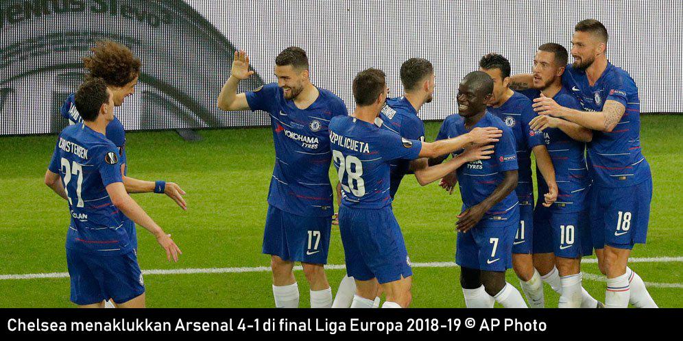 Hasil Skor Pertandingan Chelsea vs Arsenal