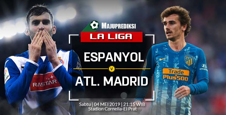 Prediksi Bola RCD Espanyol VS Atletico Madrid 04 mei 2019