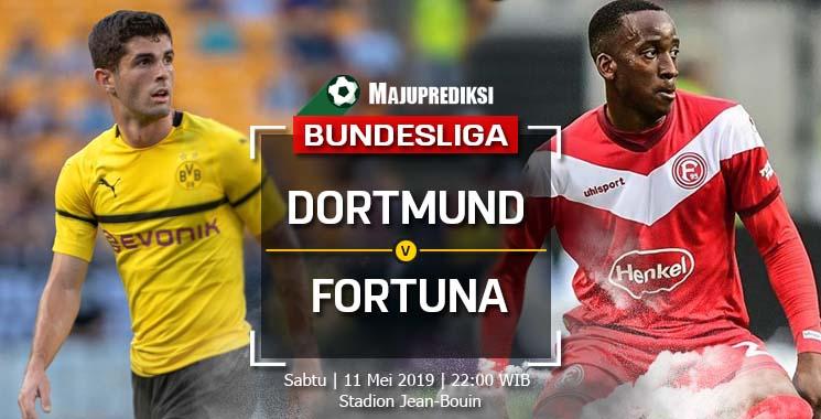 Prediksi Borussia Dortmund Vs Fortuna Dusseldorf 11 Mei 2019