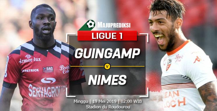 Prediksi Guingamp vs Nimes 19 Mei 2019