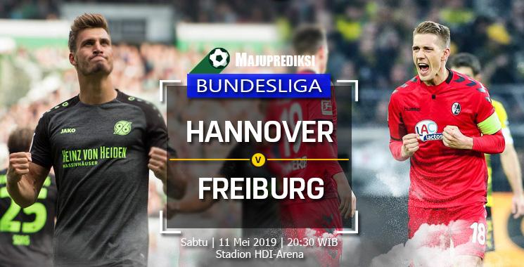 Prediksi Hannover vs Freiburg 11 Mei 2019