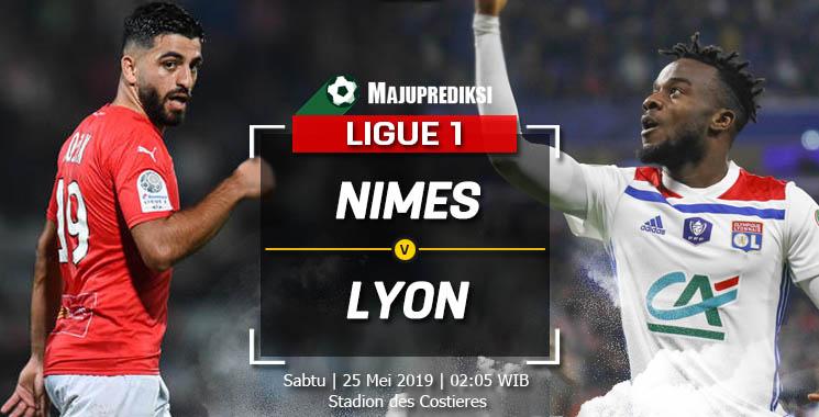 Prediksi Nimes Vs Olympique Lyonnais 25 Mei 2019