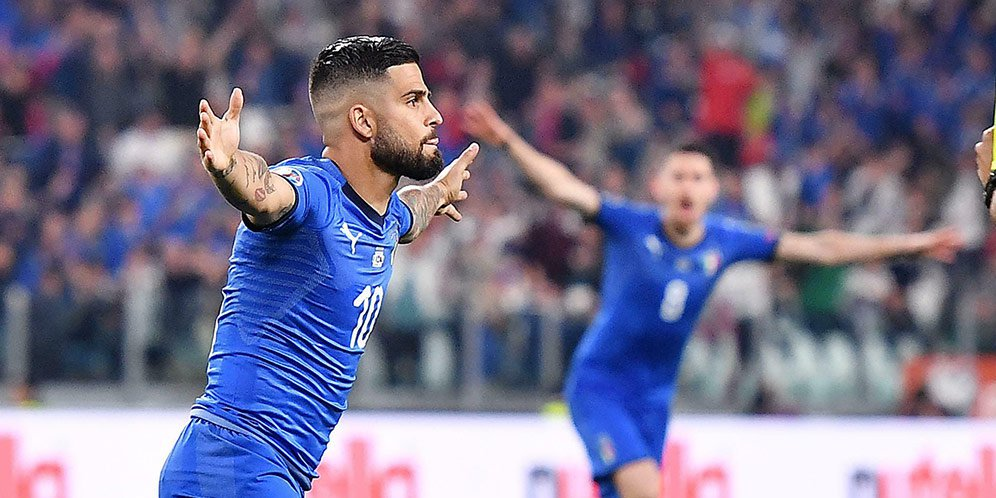 Hasil Kualifikasi Eropa: Italia vs Bosnia & Herzegovina Skor 2-1