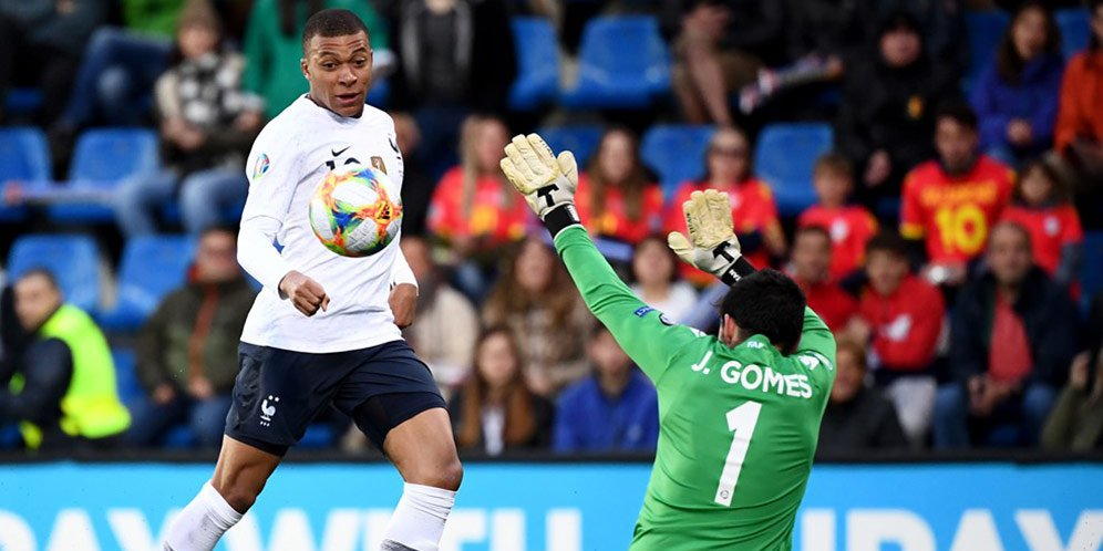 Hasil Kualifikasi Euro 2020: Andorra vs Prancis Skor 0-4