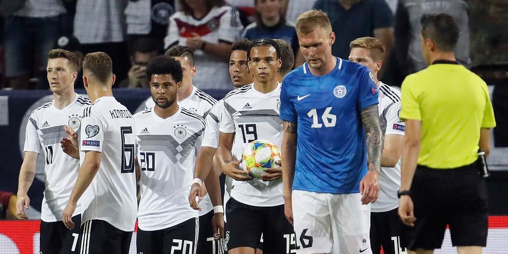 Hasil Kualifikasi Euro 2020: Jerman vs Estonia Skor 8-0