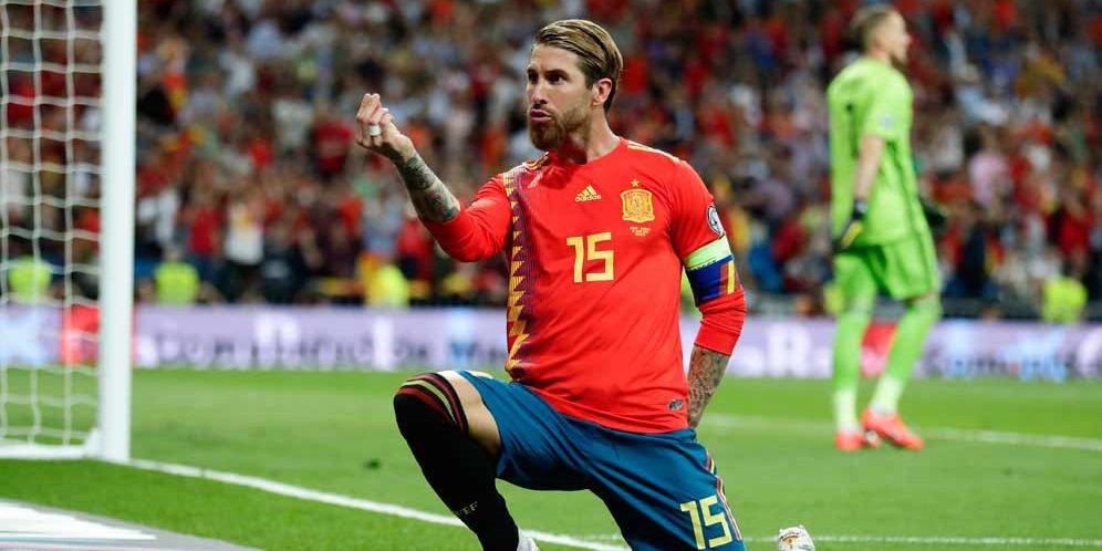 Hasil Pertandingan Kualifikasi Euro 2020 : Spanyol vs Swedia Skor 3-0