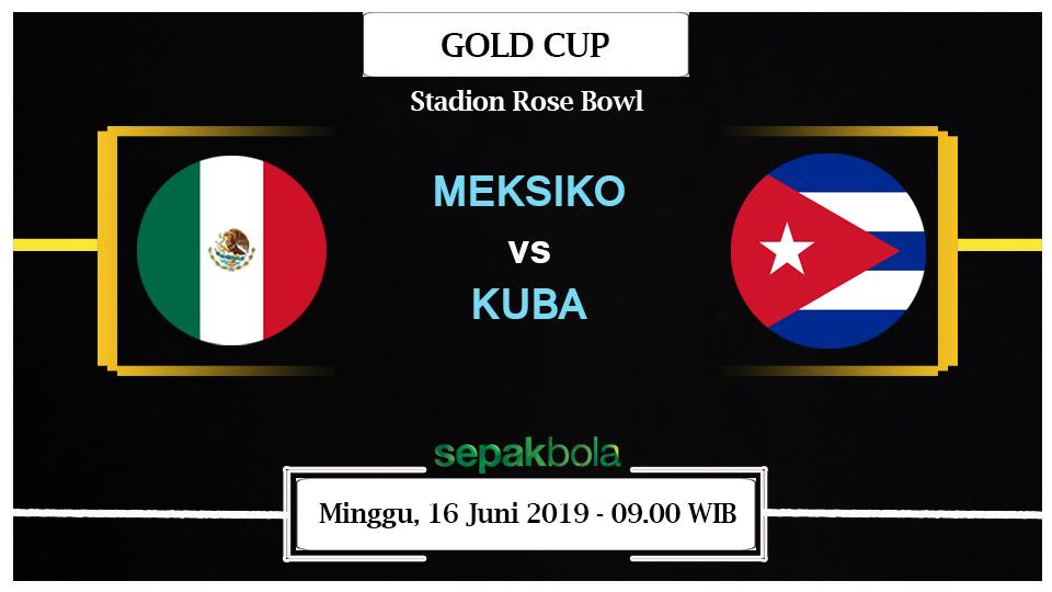 Prediksi Bola Gold Cup: Meksiko Vs Kuba 16 Juni 2019