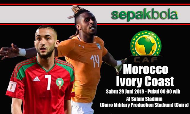 Prediksi Bola Jitu Morocco vs Ivory Coast 29 Juni 2019 Africa Cup