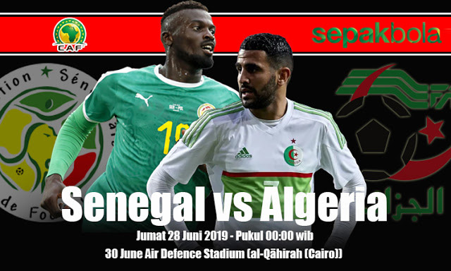 Prediksi Bola Jitu Senegal vs Algeria 28 Juni 2019 Africa Cup