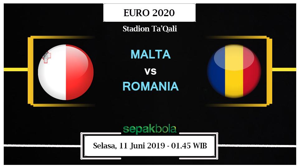Prediksi Bola Online : Malta Vs Romania 11 Juni 2019