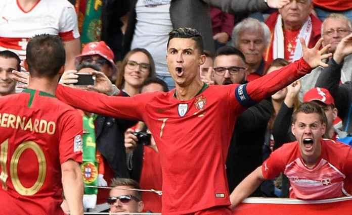Ronaldo Hat-Trick, Portugal Berhasil Menang 3-1 Atas Swiss