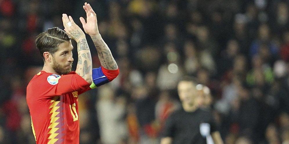 Sergio Ramos Berhasil Pecahkan Rekor Internasional Di Timnas Spanyol
