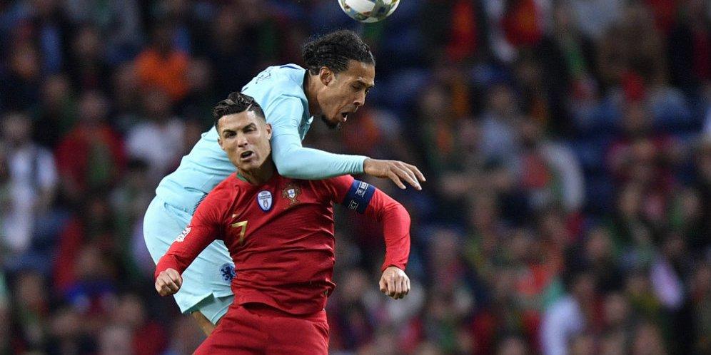 Van Dijk Kecewa Belanda Ditaklukkan Portugal di Partai Final UEFA