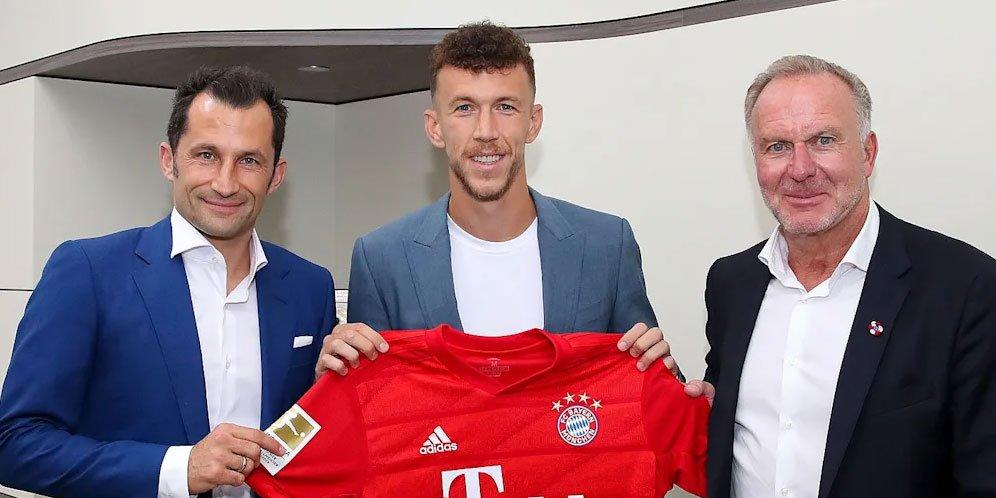 Bayern Munchen Resmi Perkenalkan Perekrutan Ivan Perisic