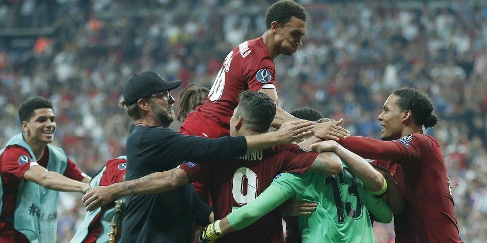 Hasil Liverpool vs Chelsea: 2-2 (5-4) Piala Super Eropa 2019