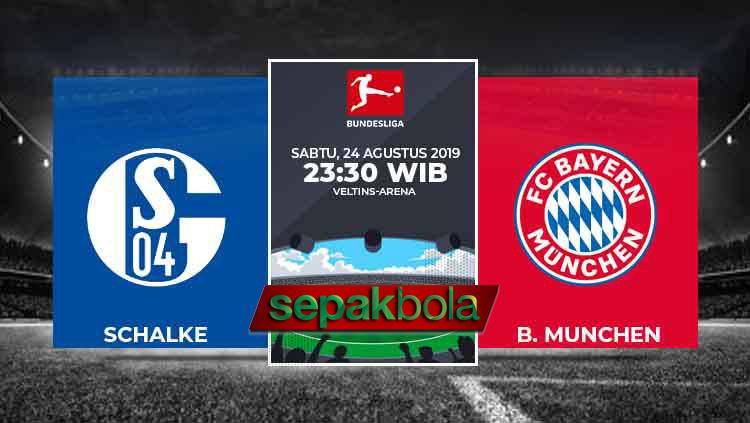 Prediksi Jitu Schalke 04 vs Bayern Munchen 24 Agustus 2019