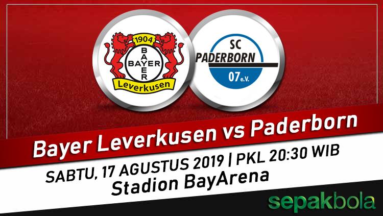 Prediksi Skor Bola Bayer Leverkusen vs Paderborn 17 Agustus 2019