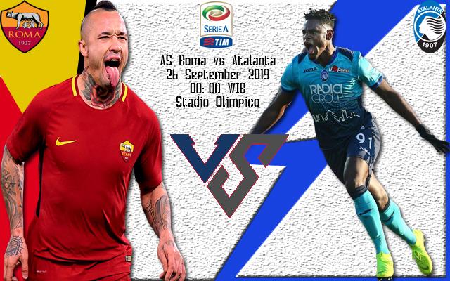 Prediksi Skor Bola AS Roma vs Atalanta 26 September 2019