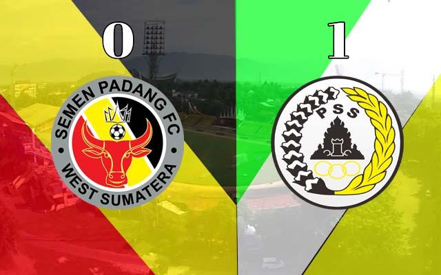 Semen Padang Takluk Dari PSS Sleman 0 - 1 di Kandang Sendiri