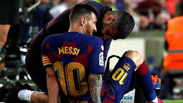 Villarreal Dibungkam Barcelona Tapi Dihadiahi Messi Cidera
