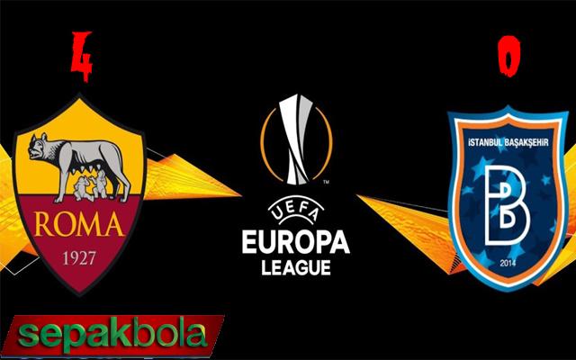 Hasil Pertandingan AS Roma vs Istanbul: Skor Akhir 4-0