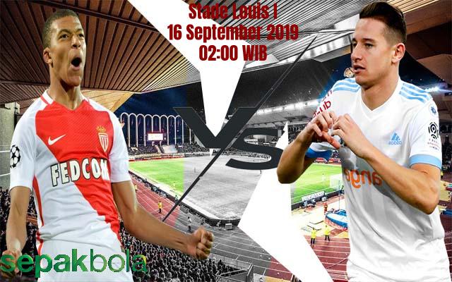 Prediksi Skor Bola Monaco vs Marseille 16 September 2019
