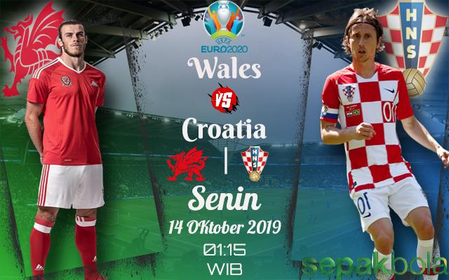 Prediksi Skor Bola Wales vs Croatia 14 Oktober 2019