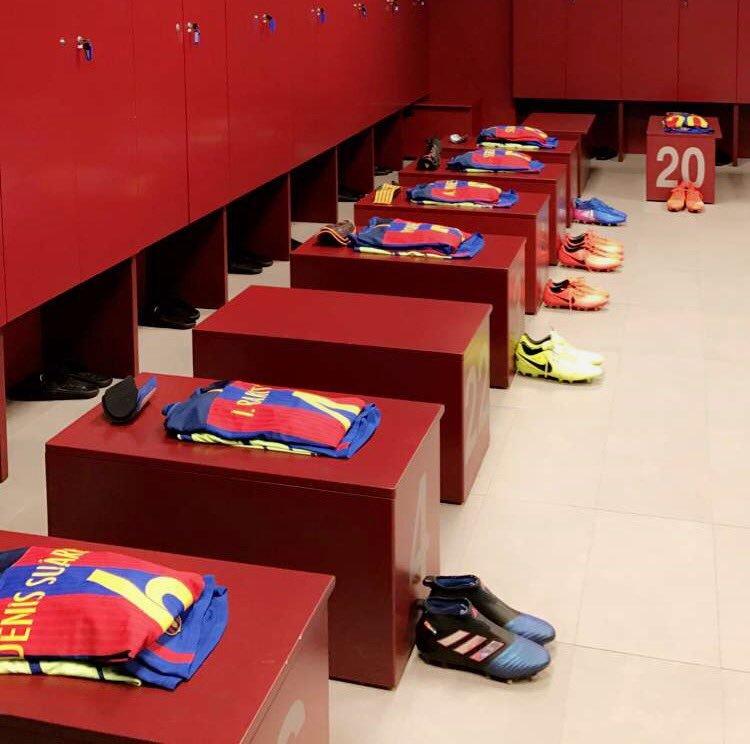 Tidak Pernah Ada Gesekan di Ruang Ganti Barelona : Messi