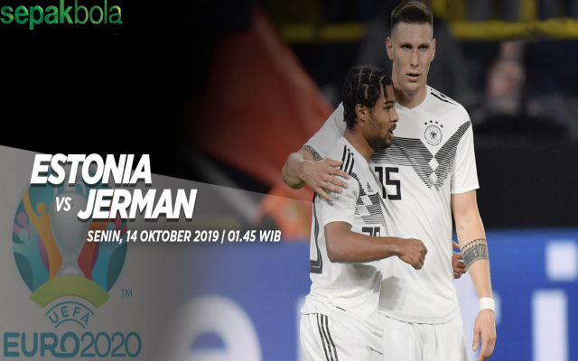 Hasil Pertandingan Estonia vs Jerman : Skor Akhir 0 - 3