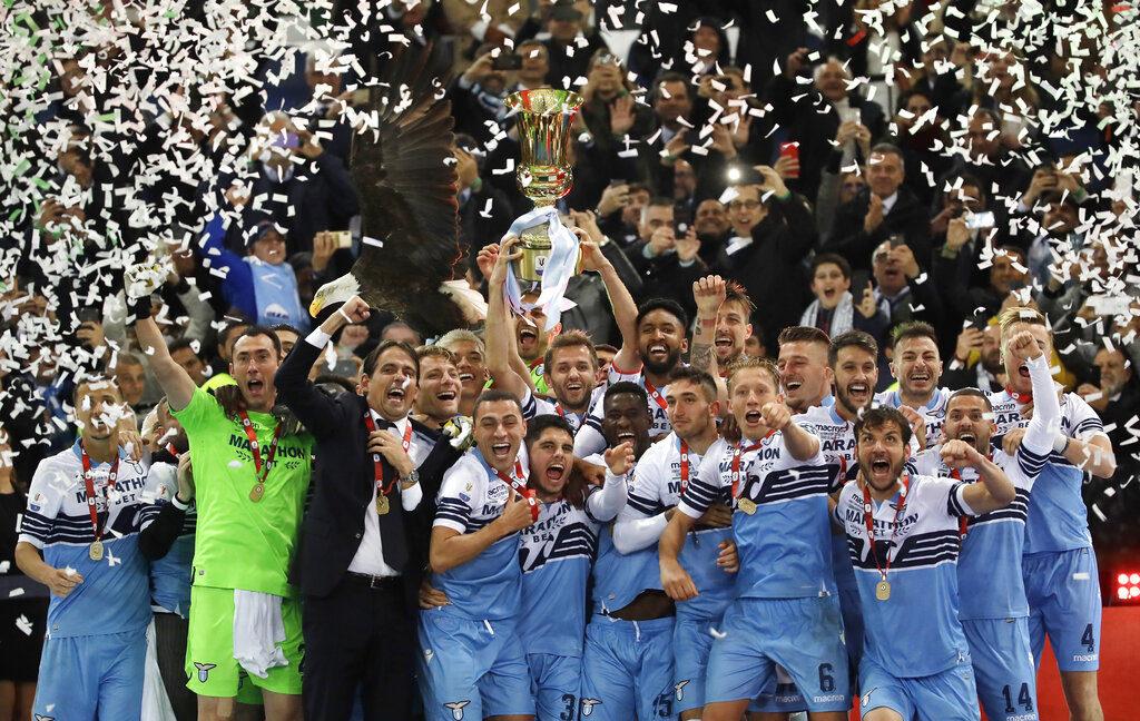 Lazio Juara Usai Mengalahkan Juventus di Piala Super Italia 2019