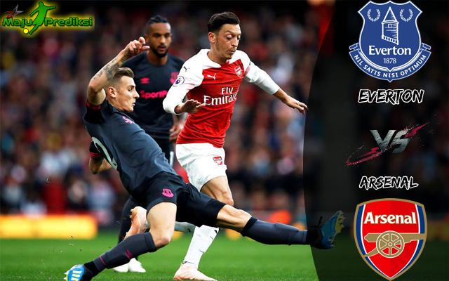 Prediksi Skor Bola Everton vs Arsenal 21 Desember 2019