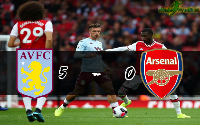 Hasil Pertandingan Aston Villa vs Liverpool : Skor Akhir 5 - 0