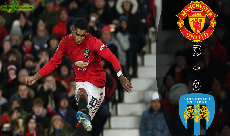 Hasil Pertandingan Manchester United vs Colchester : Skor Akhir 3 - 0