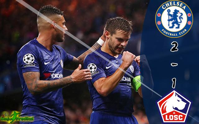 Hasil Pertandingan Chelsea vs Lille : Skor Akhir 2 - 1